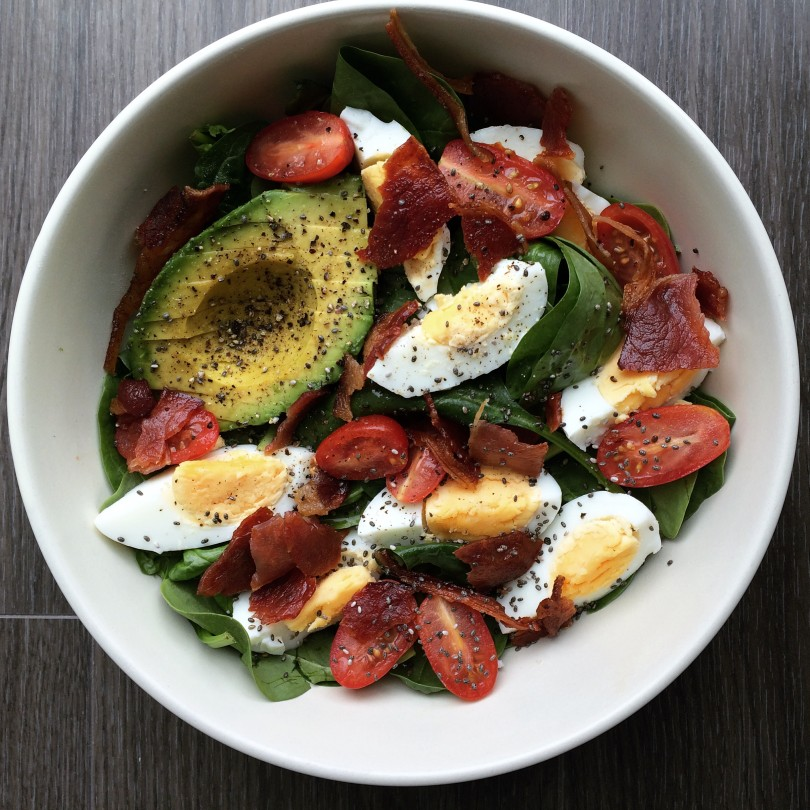 Breakfast Salad - Chinny's Kitchen