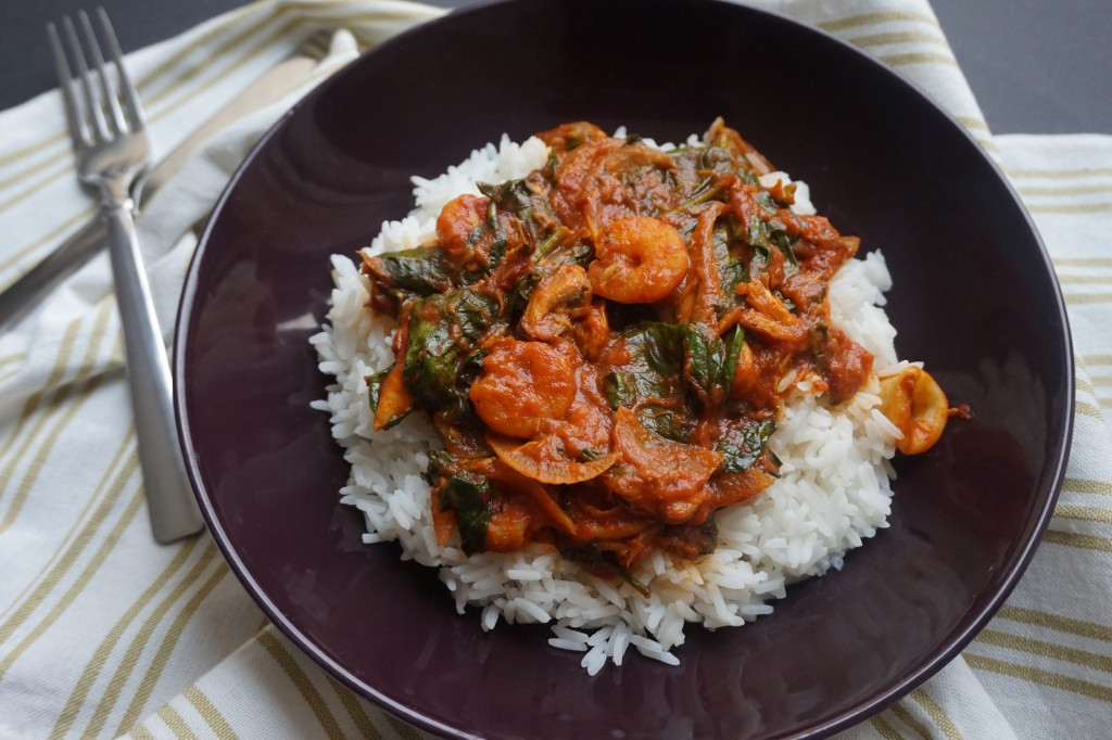 Seafood Efo | Chinny's Kitchen