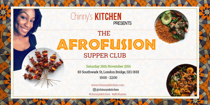 Chinny's Kitchen presents the Afrofusion Supper Club