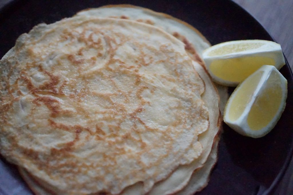 Pancake Day - Lemon Sugar Pancakes
