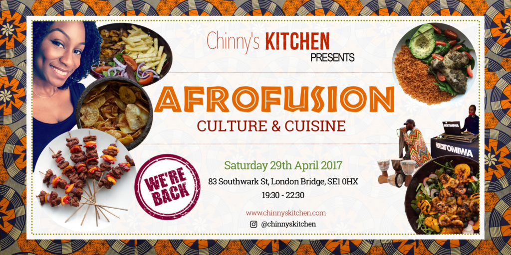 Afrofusion Supper Club/Pop Up Restaurant